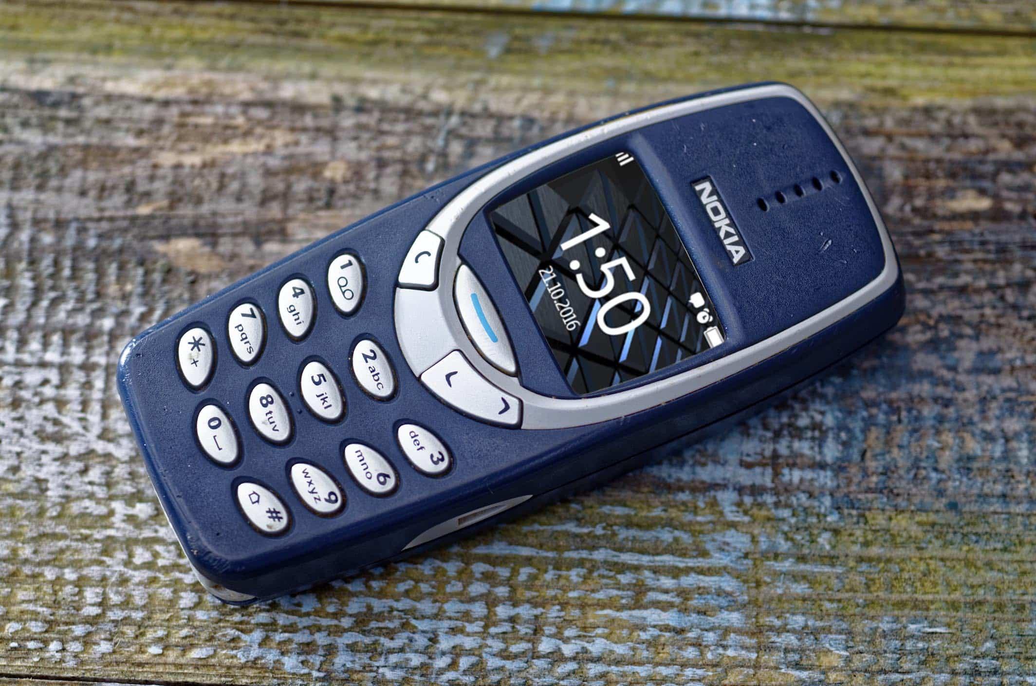 teléfono tonto Nokia 3310