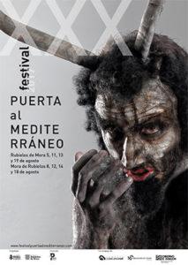 Cartel del festival Puerta al Mediterráneo 2017