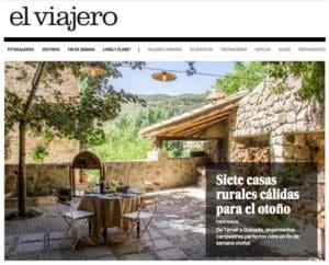 La Casa de Los Moyas, en El Viajero de El País