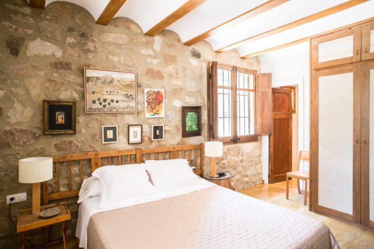 Una casa rural tranquila y acogedora