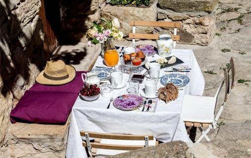 Desayuno casa rural Teruel