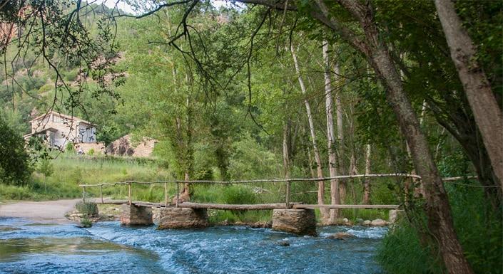 Turismo de salud en Teruel Rio-Mijares-Olba